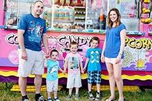 Bruner Family Carnival Photo Shoot